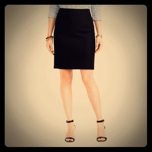 J. Crew Wool Pencil Skirt size 8